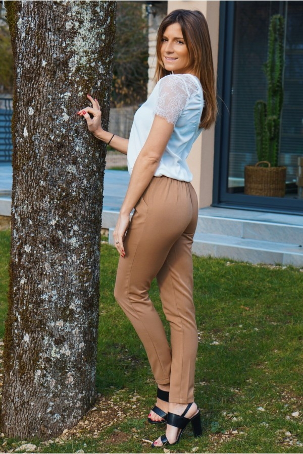 Pantalon Women beige